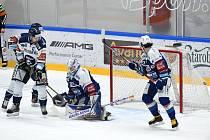 HC Kometa Brno (modrá) proti HC Vítkovice Ridera