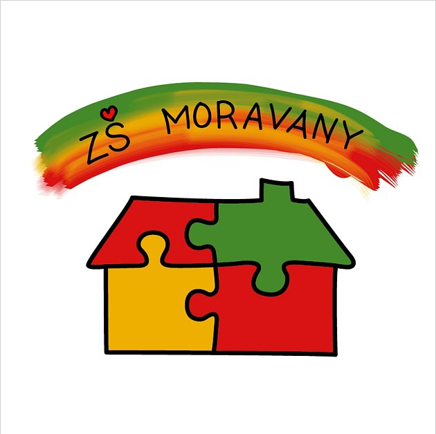 Logo ZŠ Moravany uBrna