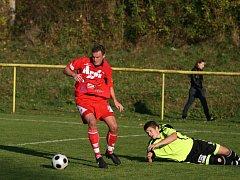Fotbalisté Blanska skolili ve třetí lize brněnskou Bystrc.