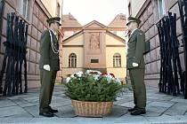 Pietní akt v areálu Kounicových kolejí připomenul osvobození od fašismu.