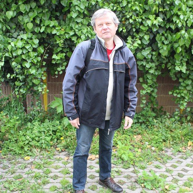 Geolog Luděk Kráčmar.