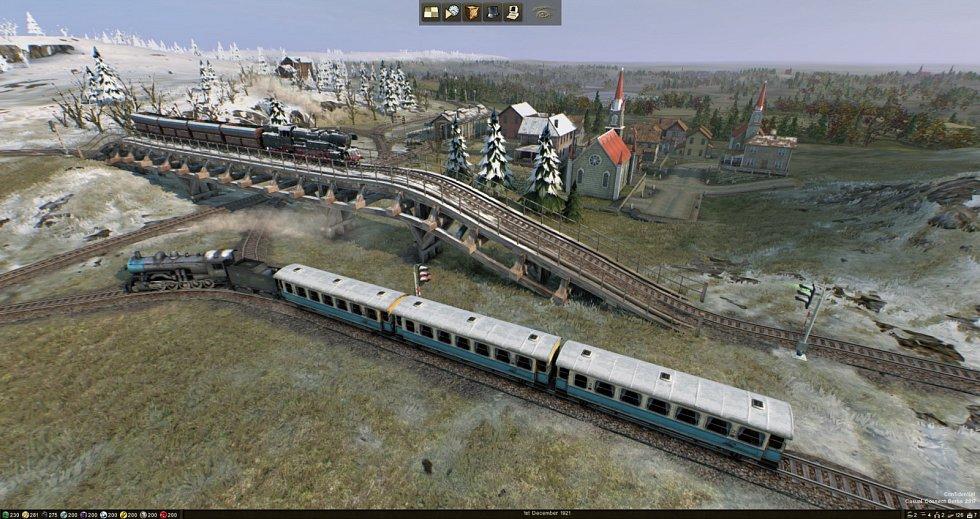 Hra kombinuje realistickou grafiku, schematický konstrukční režim a herní pravidla inspirovaná deskovými hrami.