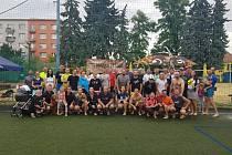 Loni posedmé si přátelé beachvolejbalem připomněli sportovního redaktora Rovnosti Marka Těšíka.