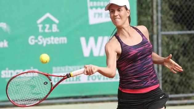 Brněnská tenistka Diana Šumová.