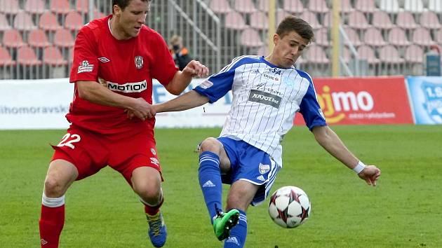 Jihomoravské prvoligové derby mezi 1. SC Znojmo a brněnskou Zbrojovkou skončilo remízou 1:1.