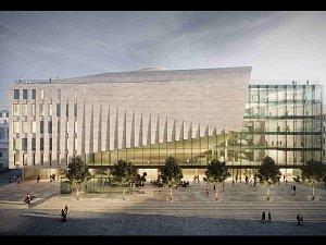 Poprvé ukázali podobu Janáčkova kulturního centra. Kapacita sálu bude 1300 míst