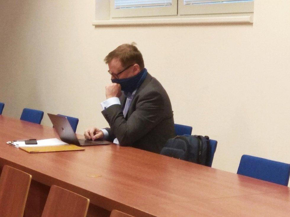 Soudní líčení v kauze Svatopluk Bartík a Miloš Zeman, 11. září 2020.