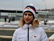 Ambasadorka Olympijského festivalu v Brně, krasobruslařka Eliška Březinová.