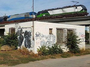 Stavba v ulici Elišky Krásnohorské u řeky Svitavy v brněnských Černovicích.