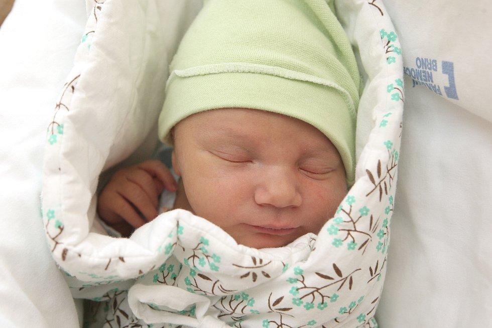 03 – Kryštof Michalík, Brno, 14. srpna 2019, 06.40, Fakultní nemocnice Brno, 52 centimetrů, 3890 gramů
