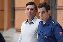 Radim Žondra, obžalovaný z útoku na Petru Kvitovou,  u Krajského soudu v Brně.