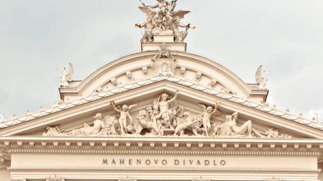 Mahenovo divadlo v Brně. Ilustrační foto.