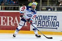 Michal Barinka odehrál v dresu Komety dvě sezony, v první z nich oslavil v roce 2018 mistrovský titul.