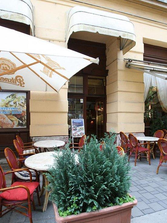 Brněnská restaurace Adria Rovinj v Masarykově ulici.