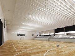 Plány na sportovní halu v Kuřimi se objevily už v roce 1954. Přípravné práce začaly teprve loni.