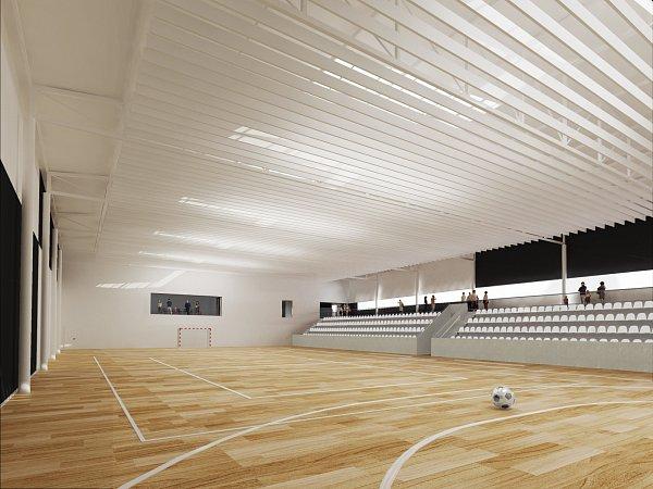 Plány na sportovní halu vKuřimi se objevily už vroce 1954.Teprve za dva roky se ale tamní sportovci dočkají začátku stavby za osmdesát milionů korun.