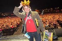 Studenta Jakuba Studeného zvolili lidé králem brněnského Majálesu.