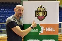 Luboš Bartoň je hvězdnou akvizicí realizačního týmu brněnských basketbalistů. Foto: Basket Brno