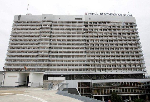 Fakultní nemocnice v Brně. Ilustrační foto.