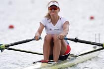 Zlatá olympijská medailistka Mirka Knapková.