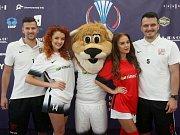 Tisková konference k mistrovství Evropy v malém fotbalu 2017 v Brně.