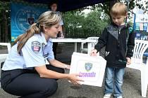 Děti v sobotu v brněnské zoo předvedly své znalosti nejen o městské policii.