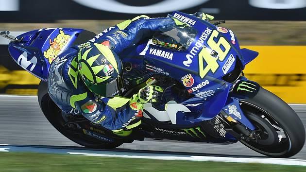 Italský motocyklista Valentino Rossi