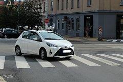 Speciální auto kontroluje od pondělí parkování v historickém centru města. Od prvního září tam platí systém rezidentního parkování.