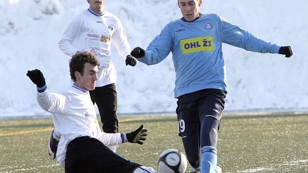 V přípravě s Nitrou dali trenéři příležitost třem novým hráčům.