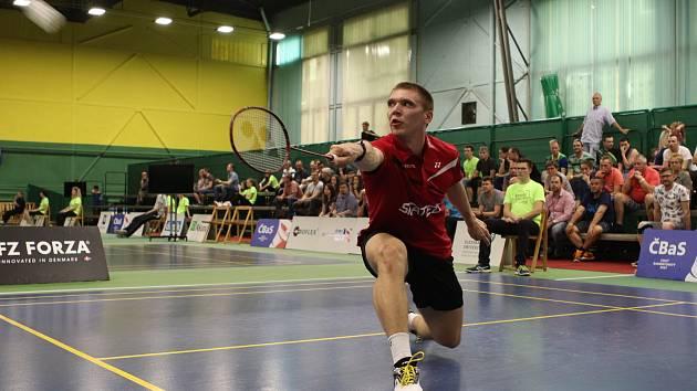 Badmintonistům Moravy k lepšímu výsledku nepomohla ani česká žebříčková jednička Milan Ludík.