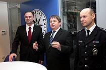Otevírání nové Policejsní služebny v Brně,