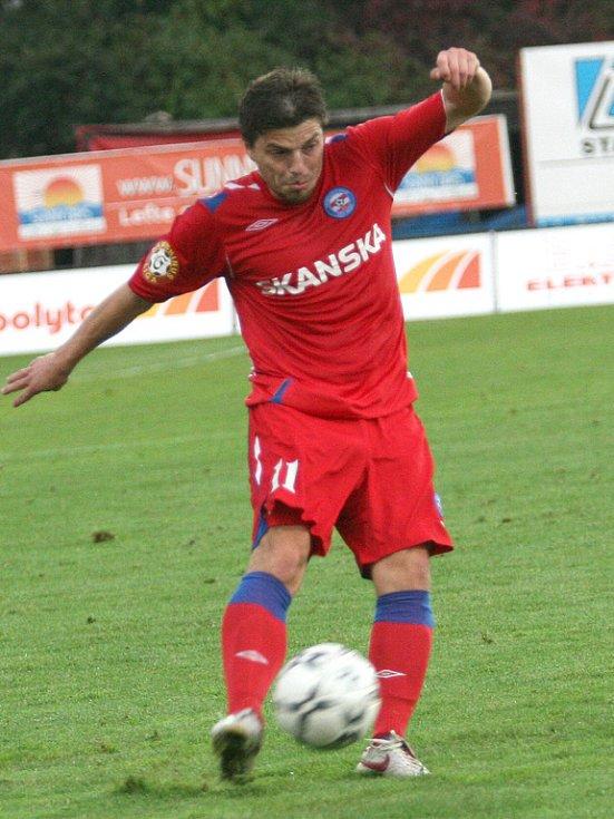 Milan Pacanda ještě v brněnských barvách.
