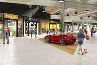 Obchodní centrum Futurum projde v příštím roce rekonstrukcí.