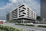 V místě proluky na Nových sadech v centru Brna vyroste Komplex Centropolis, který nabídne byty, kanceláře nebo obchody.