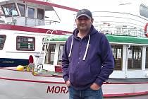 V Dopravním podniku města Brna působí Martin Ecler přes třicet let.