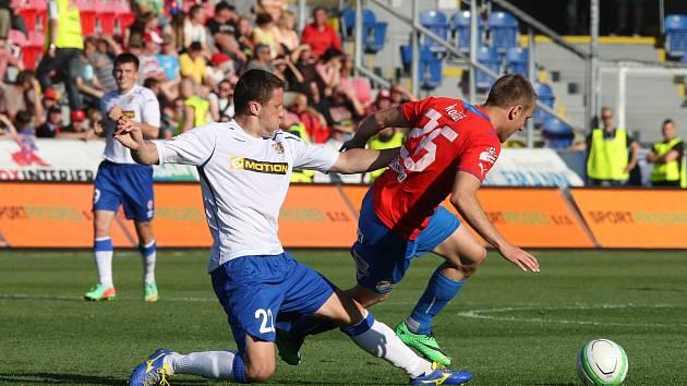 Fotbalisté Plzně remizovali v předposledním ligovém kole s Brnem 1:1.