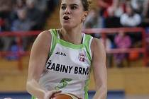 Srbská basketbalistka Maja Vučurovičová ještě v brněnském dresu.