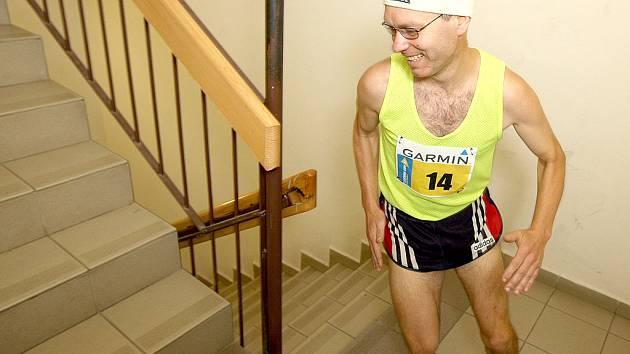 Běh do schodů na brněnském VUT