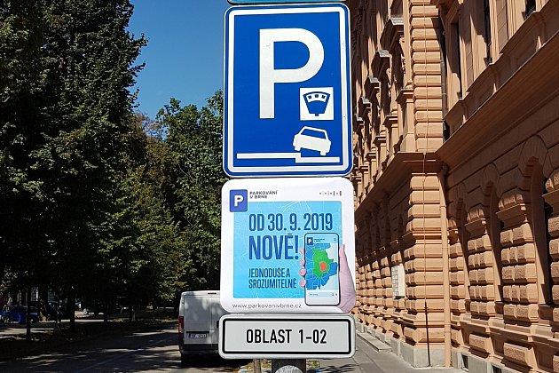 Rezidentní parkování v Brně
