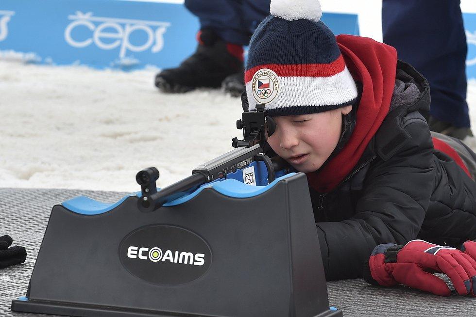 Loňský zimní Olympijský festival v Brně.