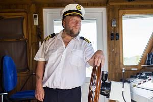 Kapitán Josef Chládek.