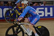 Jarmila Machačová na mistrovství světa v Londýně.