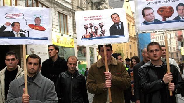 Jedna z minulých demonstrací konzervativců