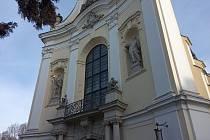 Kostel Nejsvětější Trojice v Králově Poli.