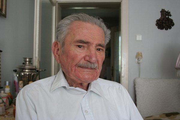 Miroslav Zachara, 89let, dříve administrativní pracovník, válku prožil vPodivíně na Břeclavsku