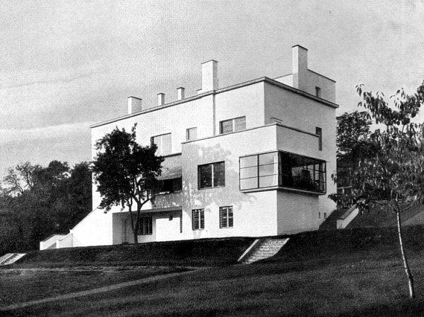 Původní podoba Münzovy vily.