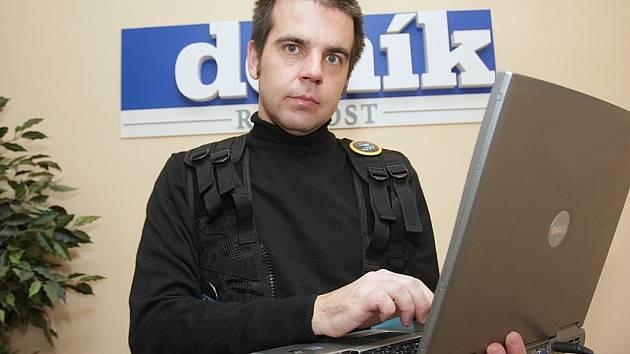 Ředitel a zakladatel cestovní kanceláře Corrupt Tour Petr Šourek.