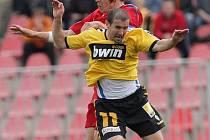 Jan Trousil 1.FC Brno a Miroslav Holeňák Liberec.