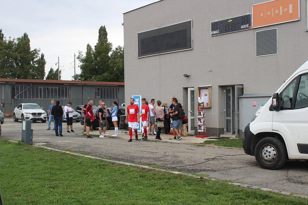Ve finále brněnského kola zdolali policisté 5:1 ČSSD.