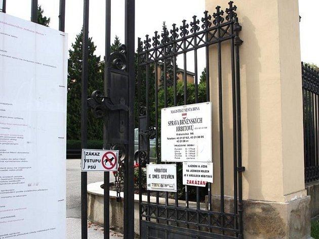 Brněnský hřbitov. Ilustrační foto